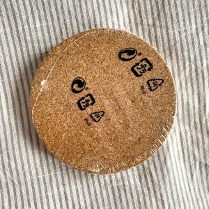 FREE w Purchase! - Set of cork coasters